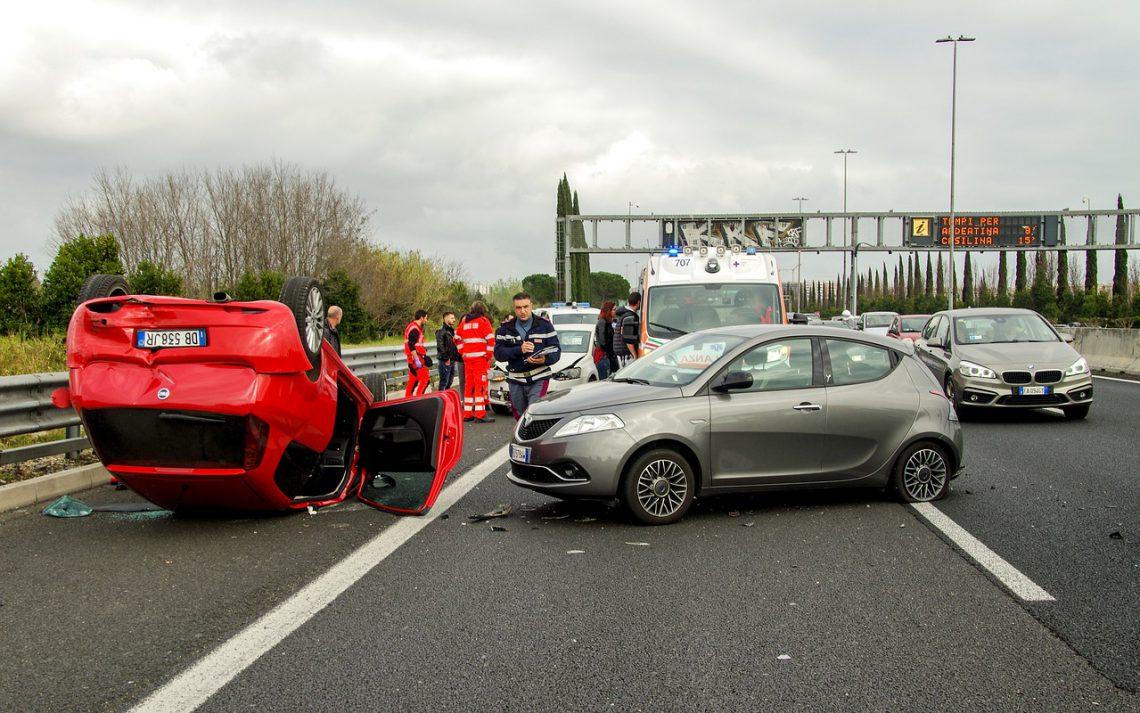 ongeluk auto